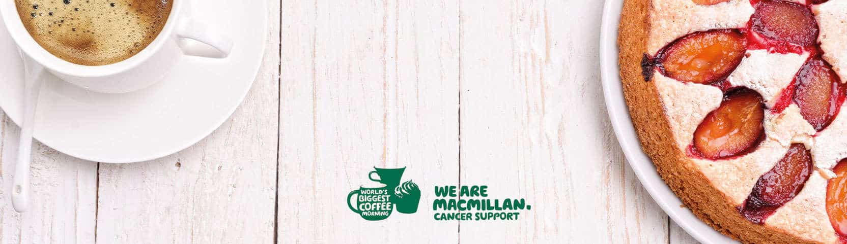 Macmillan Branded Coffee Morning Banner