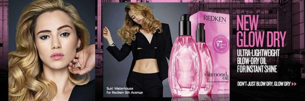 Redken New Glow Dry Oil at Cutting Club
