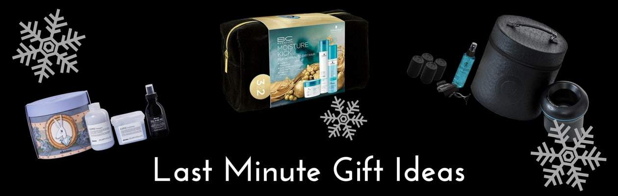 Christmas gift ideas banner - Hair care products