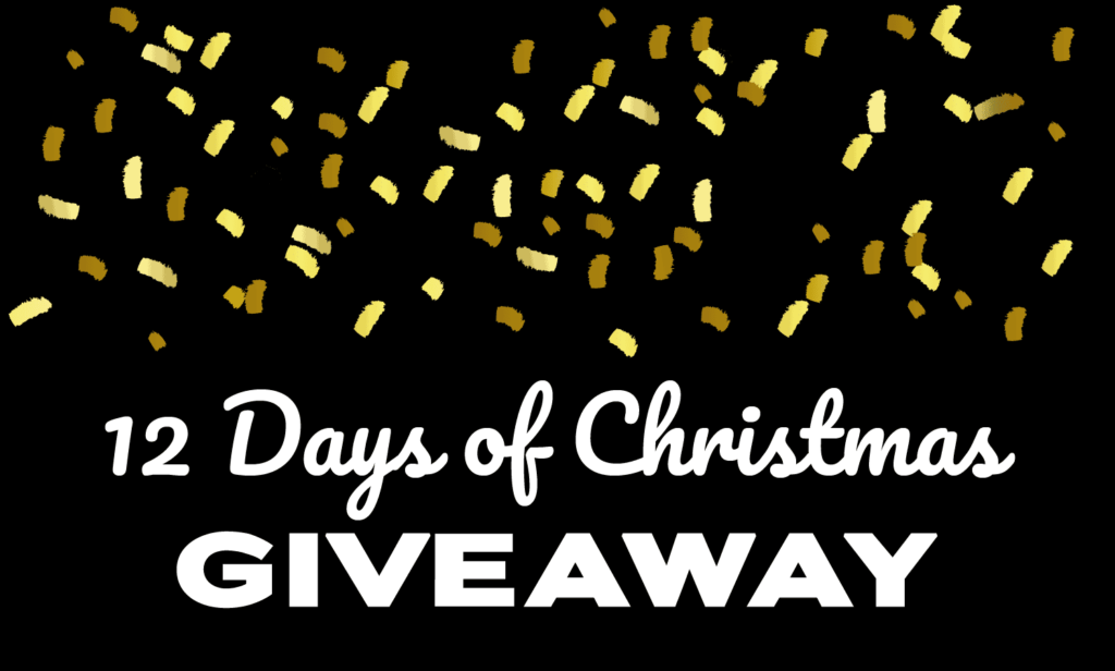12 days of Christmas Giveaway banner